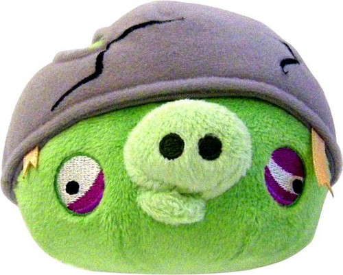 Angry Birds Helmet Pig 16-Inch Plush [With Sound]