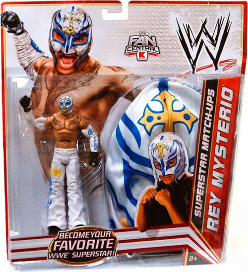 WWE Wrestling Superstar Match-Ups Rey Mysterio Exclusive Action Figure [White Pants]