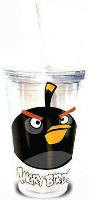 Angry Birds Black Bird 16 oz. Tumbler