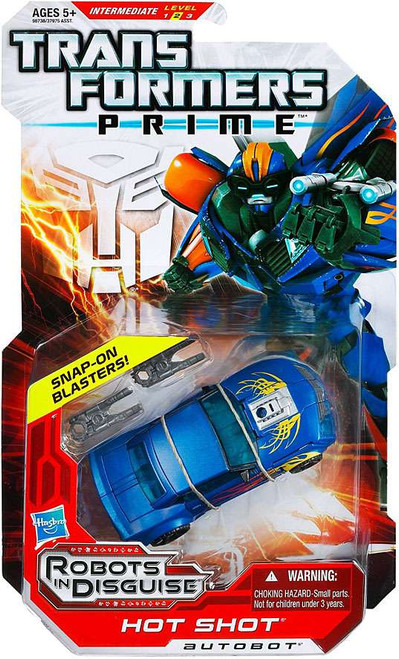 Transformers Prime Robots in Disguise Hot Shot Deluxe Action Figure