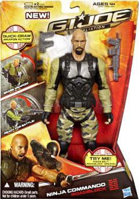 GI Joe Retaliation Roadblock Action Figure [Ninja Commando]