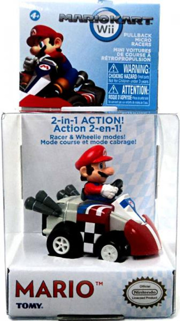 Super Mario Mario Kart Mario Pull Back Racer