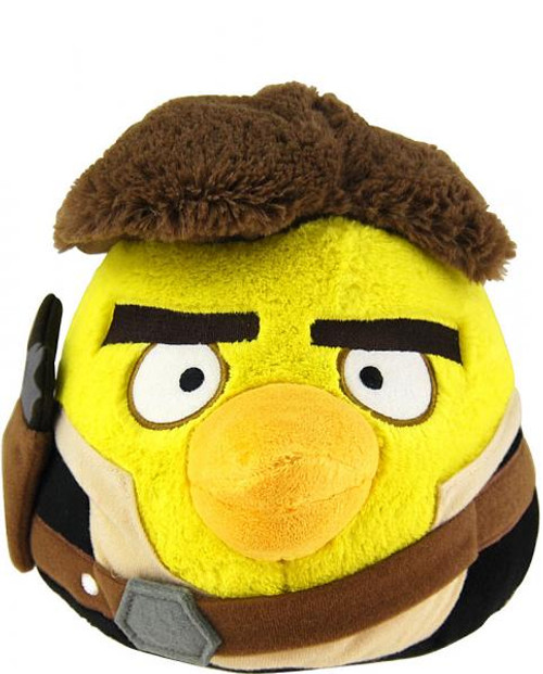 Star Wars Angry Birds Han Solo Bird 8-Inch Plush