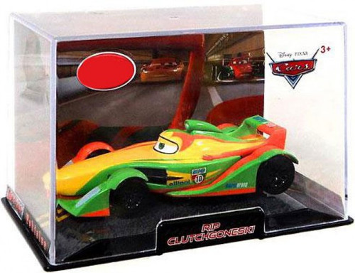 Disney Cars 1:43 Collectors Case Rip Clutchgoneski Exclusive Diecast Car