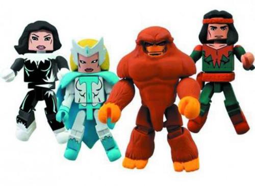 Marvel Minimates Alpha Flight Minifigure 4-Pack #2