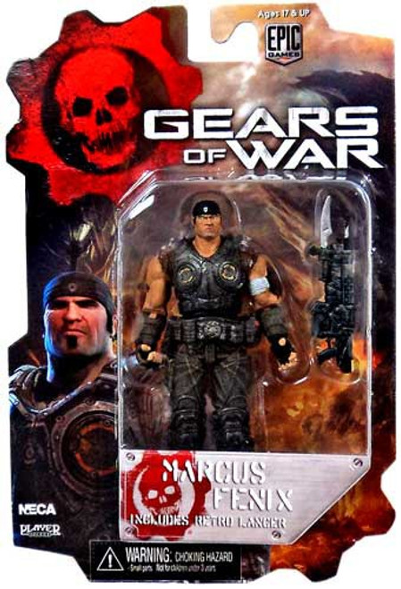 NECA Gears of War 3 Series 2 Marcus Fenix Action Figure