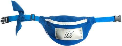 Naruto Leaf Village Symbol 8-Inch Waist Bag