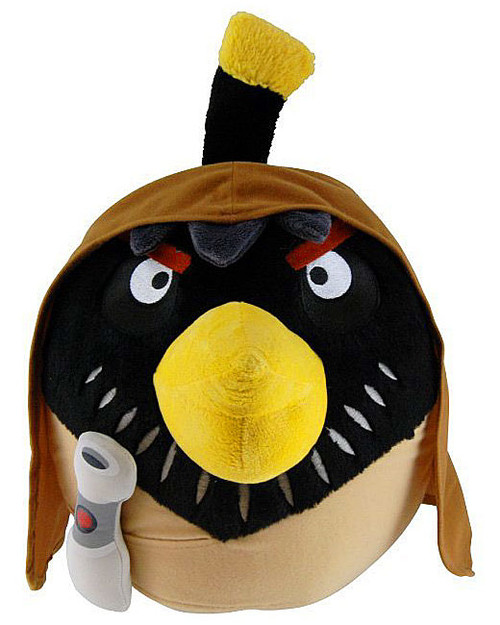 Star Wars Angry Birds Obi-Wan Kenobi Bird 12-Inch Plush