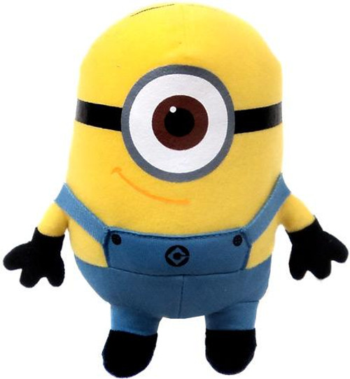 Despicable Me 2 Minion Stuart 7-Inch Plush Figure