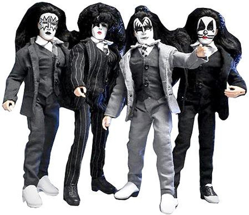 KISS Series 5 Retro Dressed To Kill Action Figure Set [8-Inch]