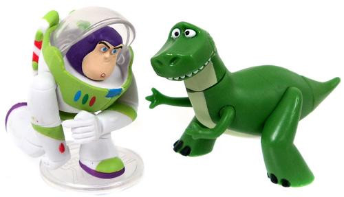 Toy Story Buddy Pack Action Buzz Lightyear & Rex Mini Figure 2-Pack [Loose]