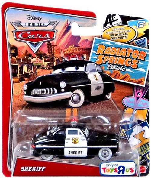 Disney Cars The World of Cars Radiator Springs Classic Sheriff Exclusive Diecast Car