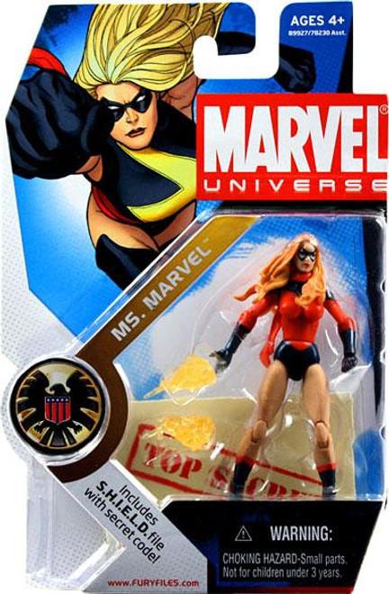 Marvel Universe Series 3 Ms. Marvel Action Figure #22 [Dark Avengers Karia Sofen]