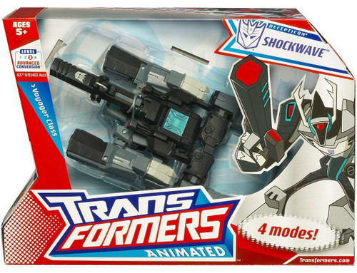 Transformers Animated Shockwave Voyager Action Figure