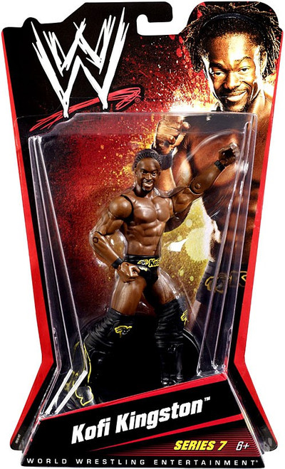 WWE Wrestling Series 7 Kofi Kingston Action Figure