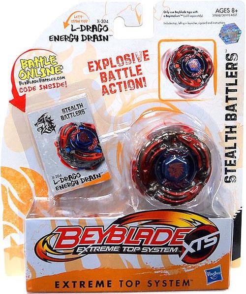 Beyblade XTS Stealth Battlers L-Drago Energy Drain Single Pack X-204