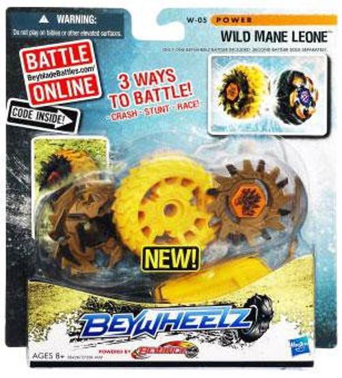 Beyblade Beywheelz Wild Mane Leone Single Pack W-05