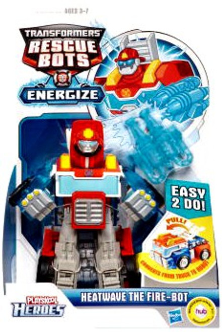 Transformers Rescue Bots Playskool Heroes Heatwave The Fire-Bot Action Figure