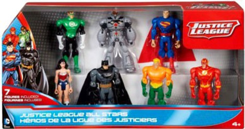 Justice League All Stars Exclusive Action Figure 7-Pack