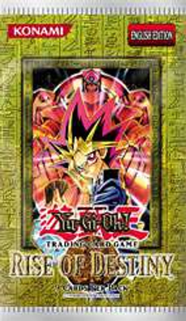 YuGiOh Rise of Destiny Booster Pack [Sealed]