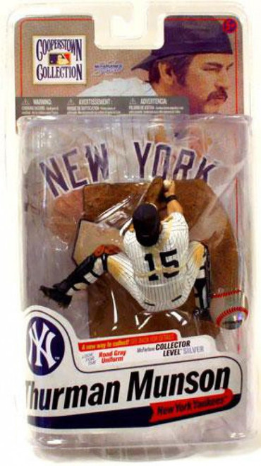 McFarlane Toys MLB Cooperstown Collection Series 7 Thurman Munson Action Figure [Pinstripes]