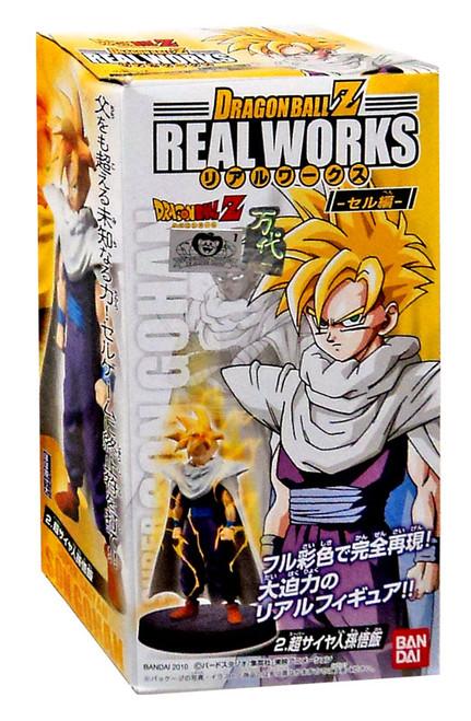 Dragon Ball Z Real Works Collection 3 Super Saiyan Son Gohan PVC Figure [Damaged Package]