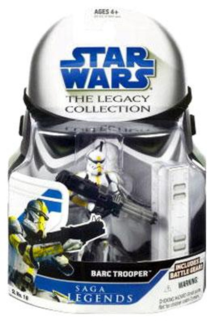Star Wars The Clone Wars Legacy Collection 2008 Saga Legends BARC Trooper Action Figure SL18
