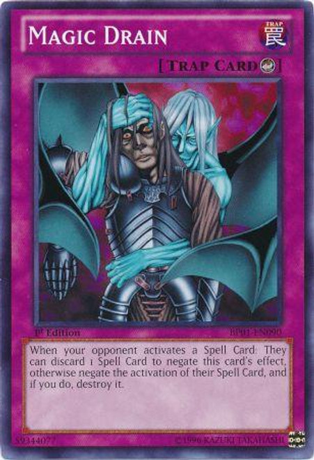 YuGiOh Battle Pack: Epic Dawn Common Magic Drain BP01-EN090