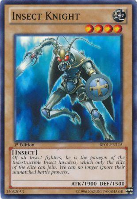 YuGiOh Battle Pack: Epic Dawn Common Insect Knight BP01-EN115