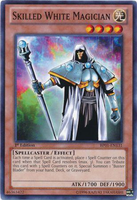 YuGiOh Battle Pack: Epic Dawn Common Skilled White Magician BP01-EN131