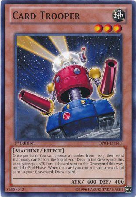 YuGiOh Battle Pack: Epic Dawn Common Card Trooper BP01-EN143