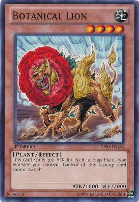 YuGiOh Battle Pack: Epic Dawn Common Botanical Lion BP01-EN145