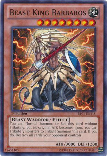 YuGiOh Battle Pack: Epic Dawn Common Beast King Barbaros BP01-EN148