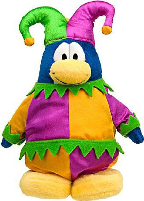 Club Penguin Series 10 Jester 6.5-Inch Plush Figure