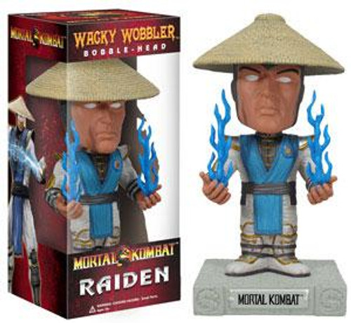 Funko Mortal Kombat Wacky Wobbler Raiden Bobble Head