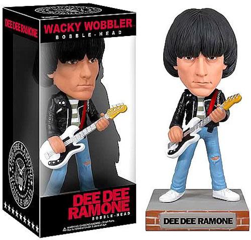 Funko The Ramones Wacky Wobbler Dee Dee Ramone Bobble Head