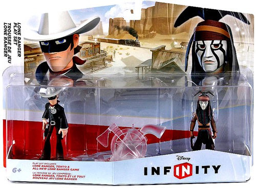 The Lone Ranger Disney Infinity Lone Ranger Playset Game Figure 2-Pack
