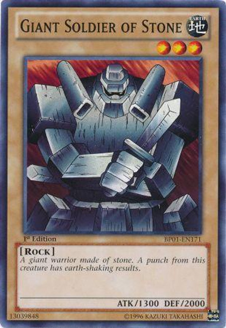 YuGiOh Battle Pack: Epic Dawn Common Giant Soldier of Stone BP01-EN171