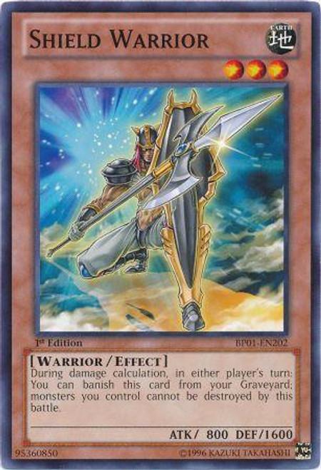 YuGiOh Battle Pack: Epic Dawn Common Shield Warrior BP01-EN202