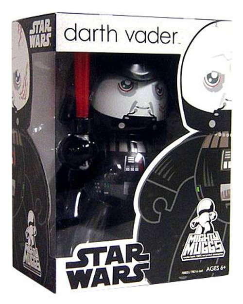 Star Wars Return of the Jedi Mighty Muggs Wave 6 Darth Vader Vinyl Figure [Unmasked]