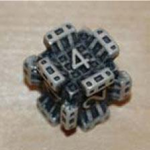 IronDie White Fortress Common Single Die #74