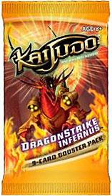 Kaijudo Rise of the Duel Masters Dragonstrike Infernus Booster Pack