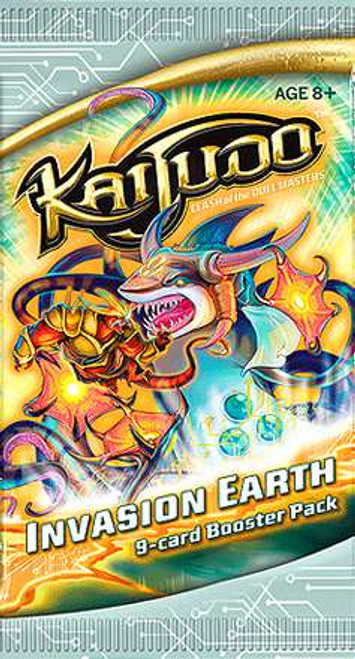 Kaijudo Clash of the Duel Masters Invasion Earth Booster Pack