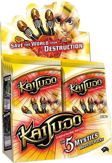 Kaijudo Clash of the Duel Masters The 5 Mystics Booster Box