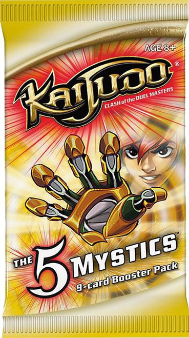 Kaijudo Clash of the Duel Masters The 5 Mystics Booster Pack