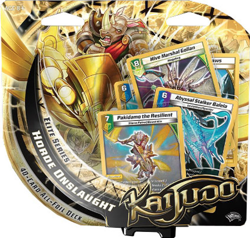 Kaijudo Rise of the Duel Masters Elite Series Horde Onslaught Foil Deck