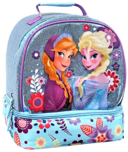 Disney Frozen Anna & Elsa Tote Bag Exclusive Lunch Box