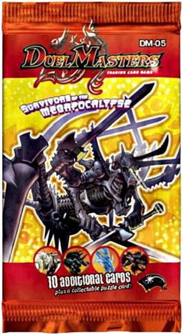 Duel Masters Card Game Survivors of the Megapocalypse Booster Pack DM-05