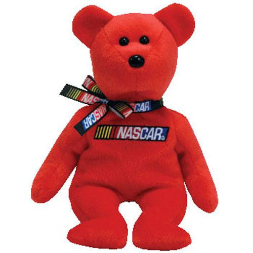 Beanie Babies NASCAR Beanie Baby Plush [Red]