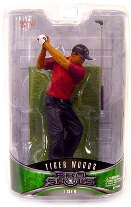 PGA Pro Shots Series 2 Tiger Woods Action Figure #3 [Ripping a Driver]